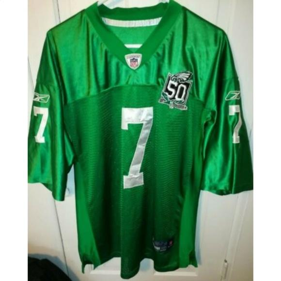 size 40 0d1d1 c657b Philadelphia Eagles Michael Vick VTG Sewn Jersey